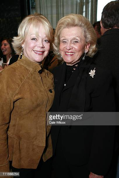 Candy Spelling and Barbara Davis during Nancy Davis Lean On Me Book Launch Party at Norman's in Los Angeles California United States