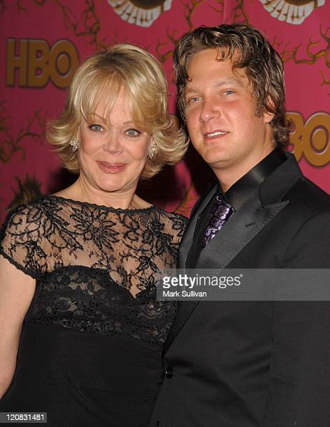 Candy Spelling and Randy Spelling during 58th Annual Primetime Emmy Awards HBO After Party Arrivals at Pcific Design Center in West Hollywood...