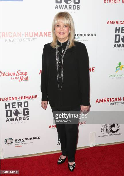 Candy Spelling at the 7th Annual American Humane Association Hero Dog Awards at The Beverly Hilton Hotel on September 16 2017 in Beverly Hills...