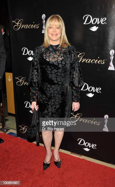 Candy Spelling attends the 35th Annual Gracie Awards Gala at The Beverly Hilton Hotel on May 25 2010 in Beverly Hills California