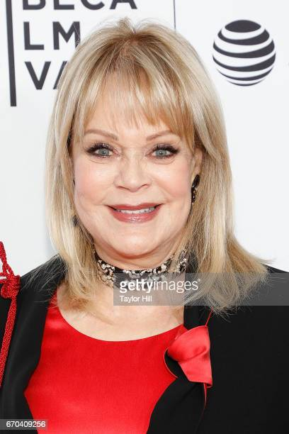 Candy Spelling attends the Clive Davis The Soundtrack of Our Lives 2017 Opening Gala of the Tribeca Film Festival at Radio City Music Hall on April...