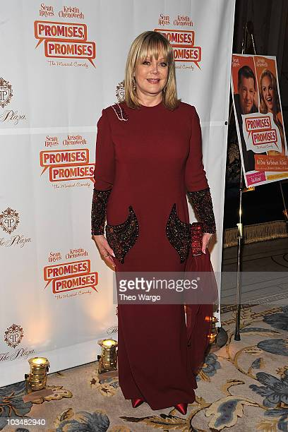 Candy Spelling attends the Promises Promises Broadway opening night after party at The Plaza Hotel on April 25 2010 in New York City
