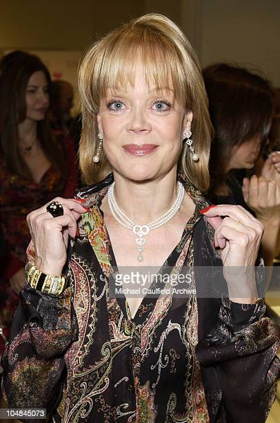 Candy Spelling during Peace and Love Jewelry by Nancy Davis Launch Party at Saks Fifth Avenue in Beverly Hills California United States
