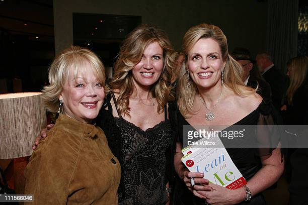 Candy Spelling Lynn Palmer and Nancy Davis during Nancy Davis Lean On Me Book Launch Party at Norman's in Los Angeles California United States