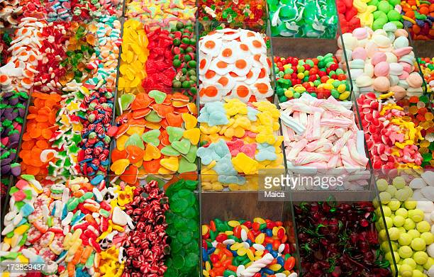 candy store - gum drop stock photos and pictures