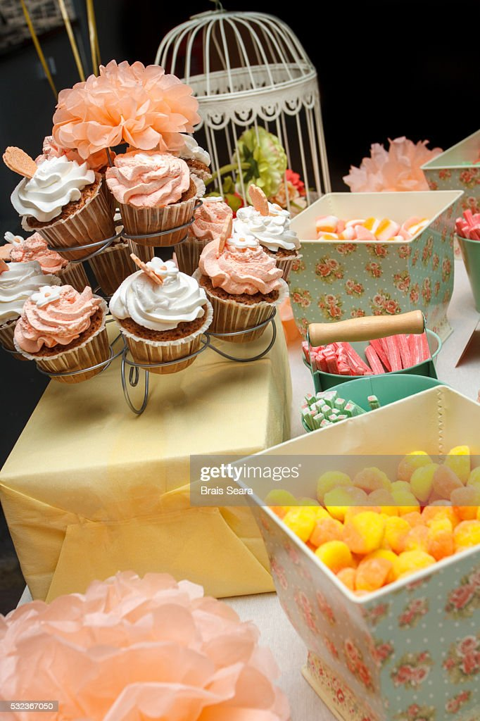 Candy table : Stock Photo