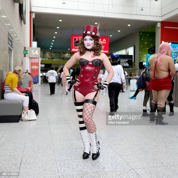 Candy Valentina dressed in cosplay at MCM London Comic Con 2017 held at the ExCel on October 28 2017 in London England