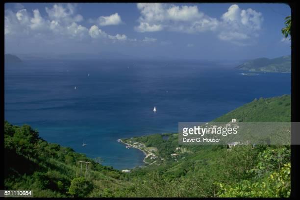 cane garden bay - cane garden bay stock pictures, royalty-free photos & images