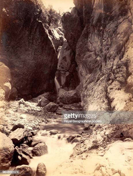 Cane river gorge in Saint David Trinidad and Tobago 1891