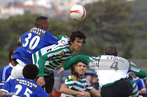 Caneira during the Portuguese Cup Final match between Belenenses and Sporting Lisbon held in Lisbon Portugal on May 27 2007