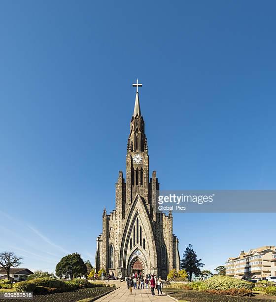 canela-rio grande do sul-brasil - catedral - fotografias e filmes do acervo