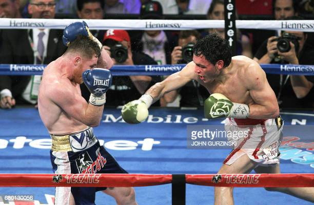 Canelo Alvarez defends against Julio Cesar Chavez Jr May 6 2017 at the TMobile Arena in Las Vegas Nevada Saul 'Canelo' Alvarez cruised to a unanimous...