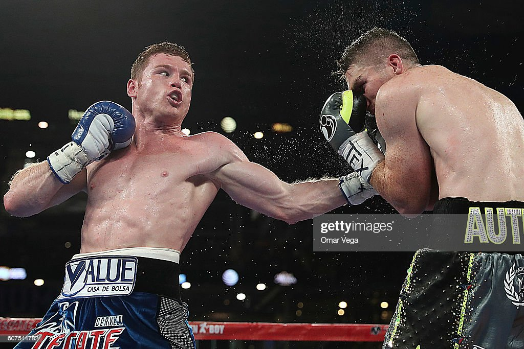 Canelo v Smith - WBO Middleweight World Championship : News Photo