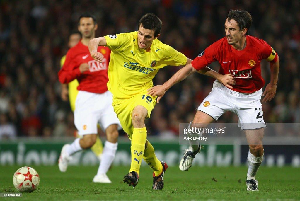 Manchester United v Villareal - UEFA Champions League : News Photo