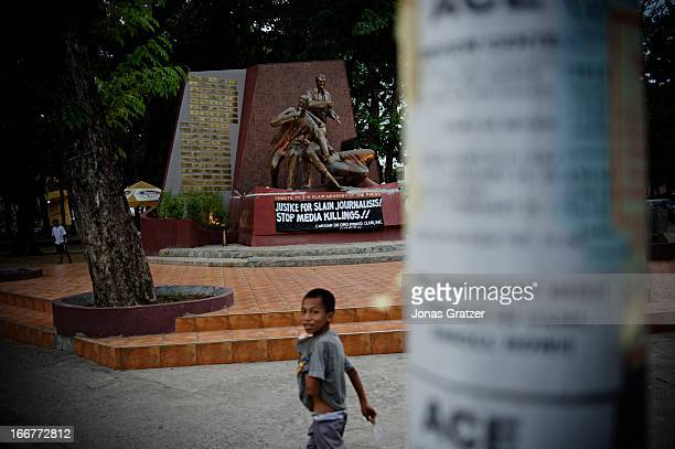 Canian de oro Monument to honor slain journalists in Cayagan De Oro During the year of 2009 a total of 137 journalists and reporters around the world...