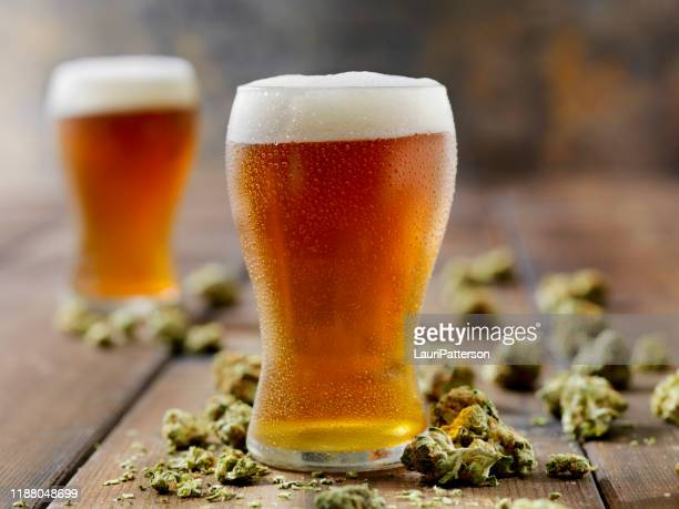 cannabis infused amber ale - help:ipa stock pictures, royalty-free photos & images