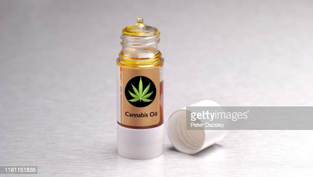 cannabis oil also known as cbd oil - cbd oil stock pictures, royalty-free photos & images