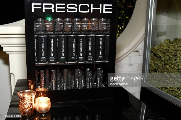 Cannabis products on display at Sean Combs 50th Birthday Bash presented by Ciroc Vodka on December 14 2019 in Los Angeles California