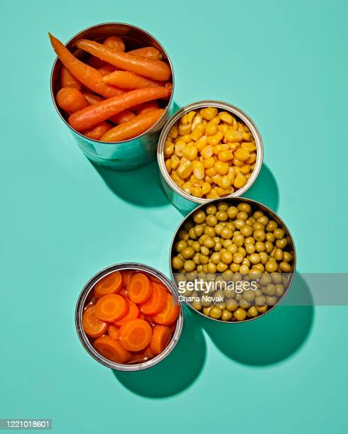 "canned veggies - ""shana novak"" stock pictures, royalty-free photos & images"