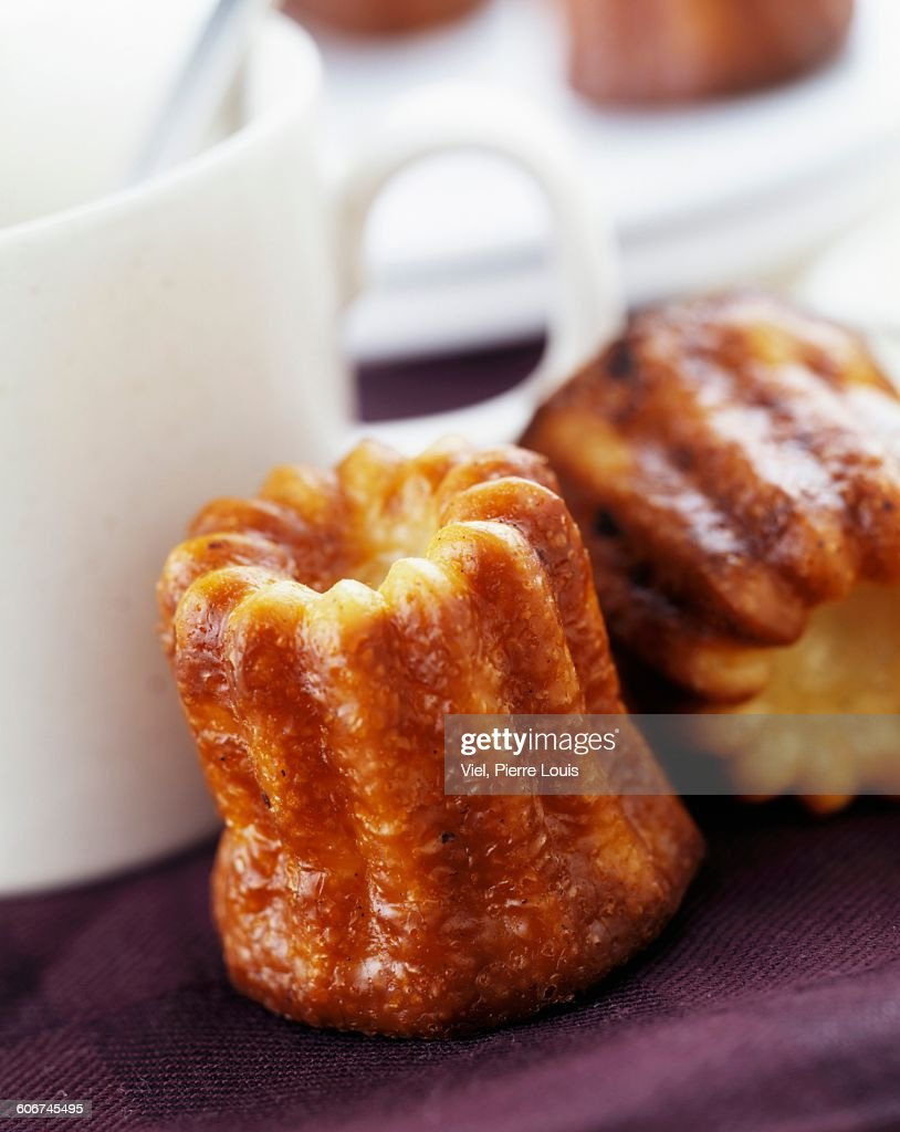 cannele cakes : Stock Photo