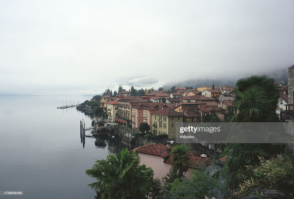 Cannero, Lago Maggiore : Stock Photo