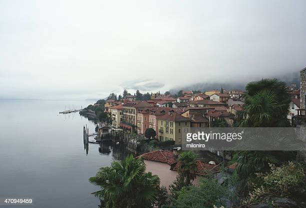 cannero, lago maggiore - miloniro stock pictures, royalty-free photos & images