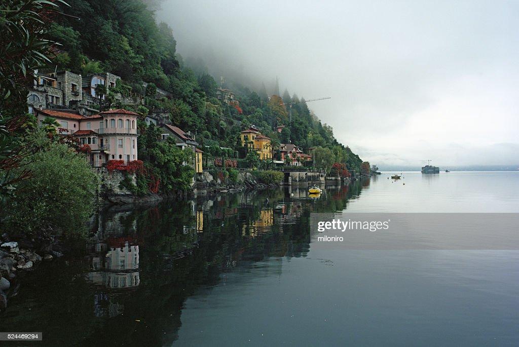 Cannero, Lago Maggiore : Stock-Foto
