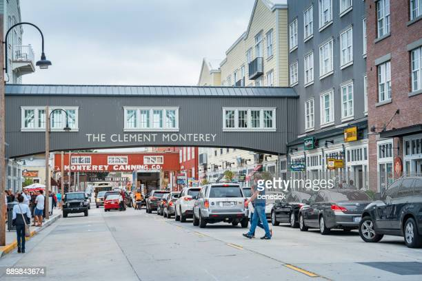 Cannery Row in Monterey California USA