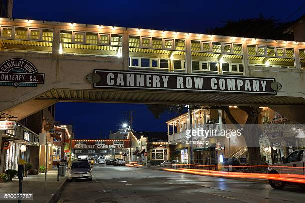 cannery row in monterey - city of monterey california stock pictures, royalty-free photos & images