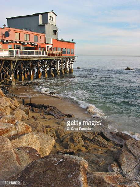 cannery row - monterrey stock pictures, royalty-free photos & images