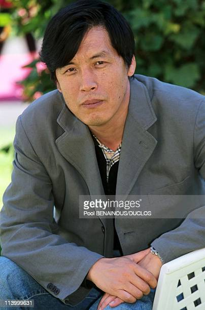 Cannes 2000 Meeting Lee Chang DongSol Kyoung Gun In Cannes France On May 14 2000Director Lee Chang Dong