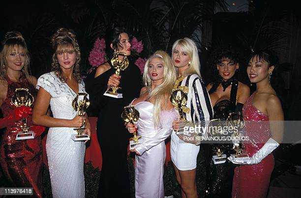 Cannes 92 Awards of Hot D'Or In Cannes France On May 12 1992