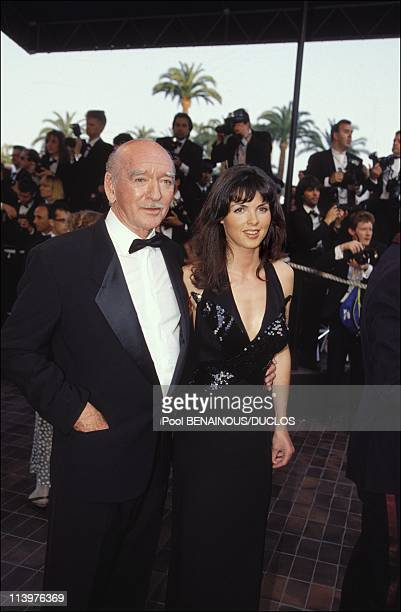 Cannes 92 Opening night in Cannes France on May 07 1992Eddie Barclay and wife
