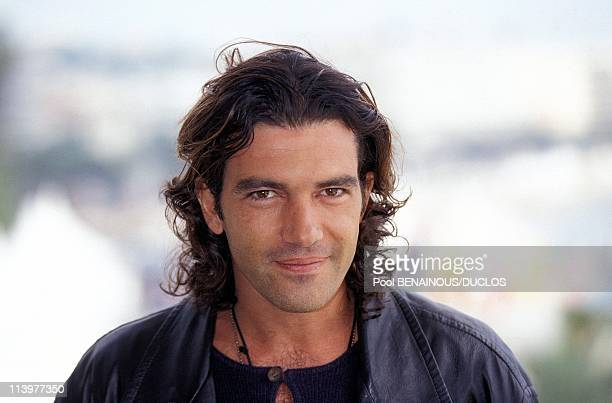 Cannes 95 Photo Call 'Desperados' In Cannes France On May 1995Antonio Banderas