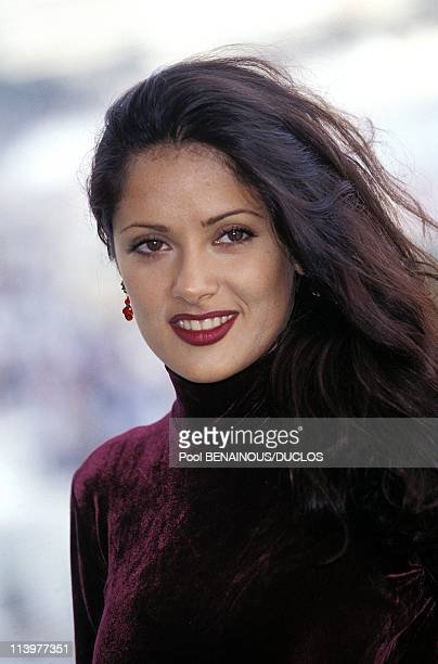 "Cannes 95: Photo Call ""Desperados"" In Cannes, France On May, 1995-Salma Hayek."