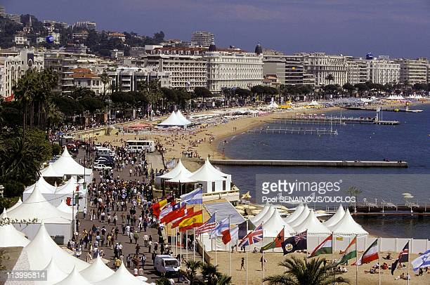 Cannes 96 Illustration In Cannes France On May 09 1996The Croisette the Californie Neighborhood