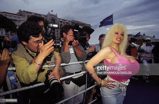 Cannes 96 Lolo Ferrari In Cannes France On May 13 1996