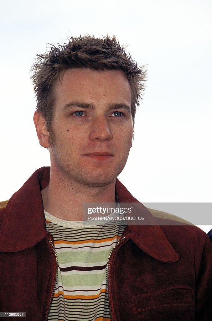 """Cannes 96: Photo Call """"Trainspotting"""" In Cannes, France On May 13, 1996- : News Photo"""