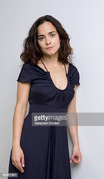 Actress Alice Braga poses at a portrait session in Cannes on May 14 2008