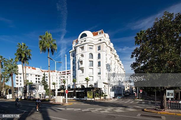 Cannes famous la Croisette boulevard