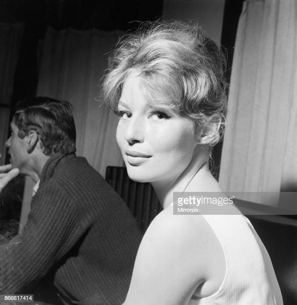 Cannes Film Festival 1958 picture shows Annette Stroyberg danish actress Saturday 10th May 1958