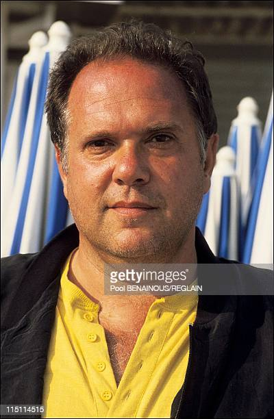 Cannes Film Festival: Atom Egoyan in Cannes, France on May 14, 1991 - Maury Chaykin.