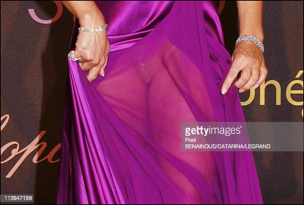 Cannes Film Festival Chopard trophy at the Carlton hotel in Cannes France On May 20 2006Liz Hurley