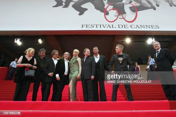 Cannes Film Festival director Thierry Fremaux Austrian actor Paul Hofmann Austrian actor Michael Thomas Austrian director Ulrich Seidl Ukrainian...