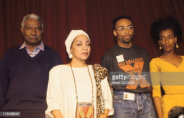 Cannes Film Festival During Film 'Do The Right Thing' On May 19thIn CannesFrance