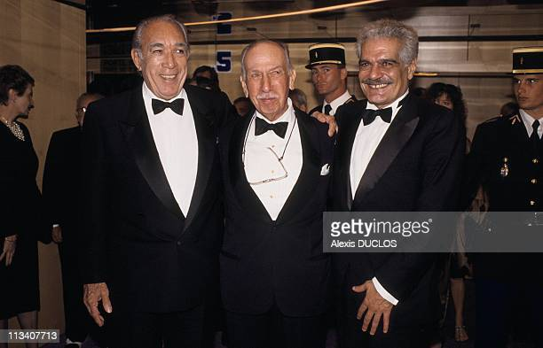 Cannes Film Festival, Evening 'Lawrence Of Arabia' On May 10th, 1989 - In Cannes,France