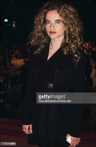 "Cannes Film Festival: film ""Barton Fink"" in Cannes, France on May 18, 1991 - Isabelle Pasco."