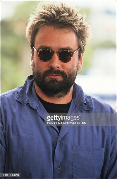 "Cannes Film Festival: film ""Lune Froide"" of P. Bouchitey in Cannes, France on May 11, 1991 - Luc Besson."