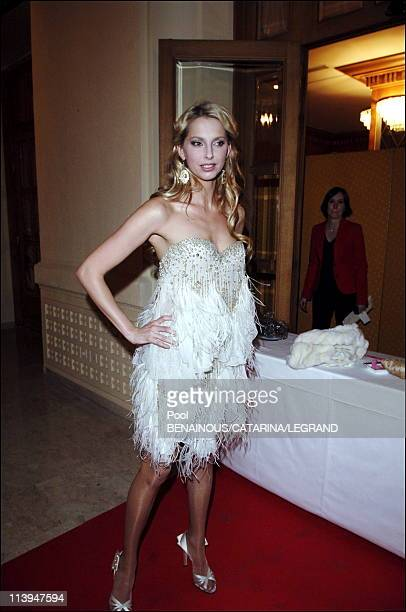 Cannes Film Festival Gala for Life party to benefit UNICEF in Cannes France On May 20 2006Frederique Bel