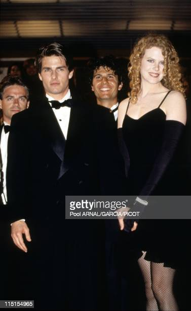Cannes Film Festival in Cannes France in May 1992 American actor Tom Cruise and his wife australian actress Nicole Kidman